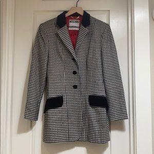 Moshino Couture houndstooth blazer